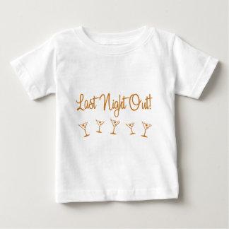 MultiMartini-LastNightOut-Orng Playera De Bebé