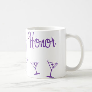 MultiMartini-MaidHonor-Purp Coffee Mug