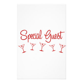 MultiMartini-SpecialGuest-Red Stationery