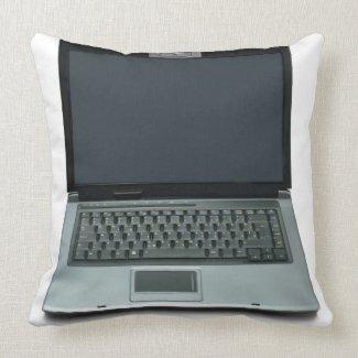 multimedia notebook computer pillow