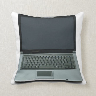 multimedia notebook computer throw pillow
