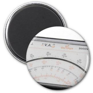 Multimeter scale magnet