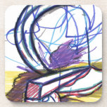 Multiperspective Scenes Of An Imagination Beverage Coasters