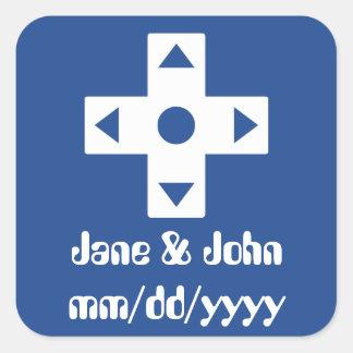 Multiplayer Mode in Blue Sticker