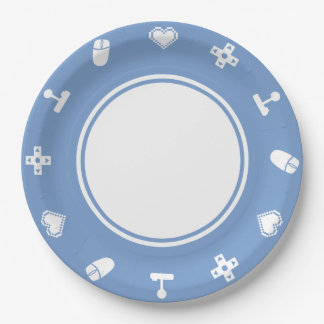 Multiplayer Mode in Periwinkle Paper Plate