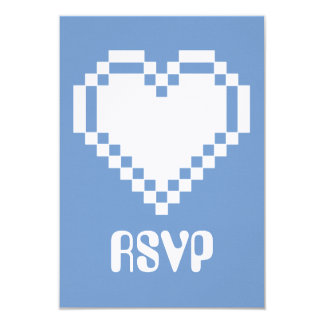 Multiplayer Mode in Periwinkle RSVP Card