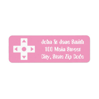 Multiplayer Mode in Petal Pink Address Label