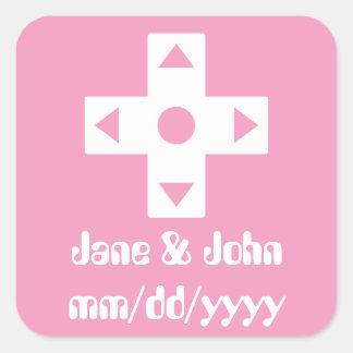 Multiplayer Mode in Petal Pink Sticker
