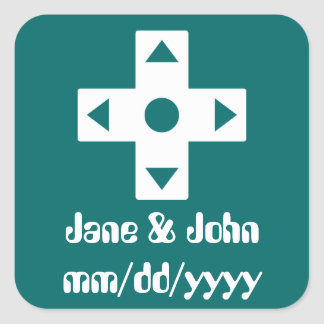 Multiplayer Mode in Teal Sticker