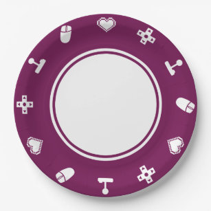 Multiplayer Mode in Wine Paper Plate  sc 1 st  Zazzle & Computer Mouse Plates | Zazzle