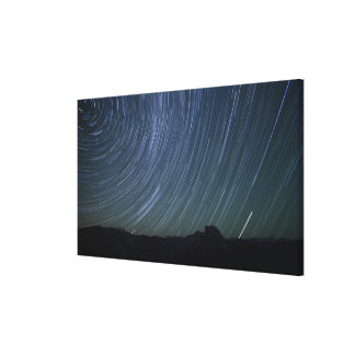 Multiple 208-second exposures are blended to gallery wrap canvas