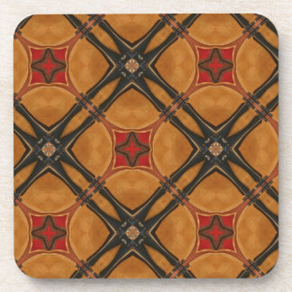 Multiple Abstract Designed Products Beverage Coaster