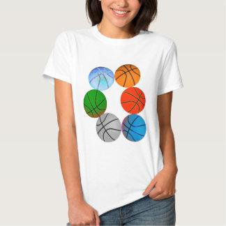 Multiple Basketballs Shirt