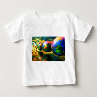 Multiple burning globes baby T-Shirt