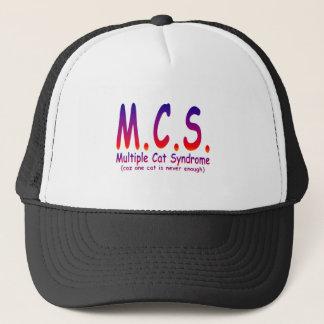 Multiple Cat Syndrome Trucker Hat