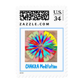MULTIPLE CHAKRA HEALAING MEDITATION STAMP