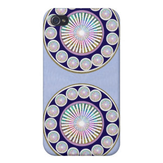 Multiple CHAKRA - Sparkle n Live Mandala Cover For iPhone 4