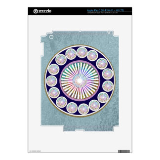 Multiple CHAKRA  -  Sparkle n Live Mandala Skin For iPad 3