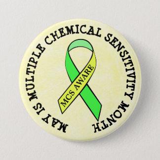 Multiple Chemical Sensitivity Disorder MCSD Button