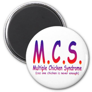 Multiple Chicken Syndrome Magnet