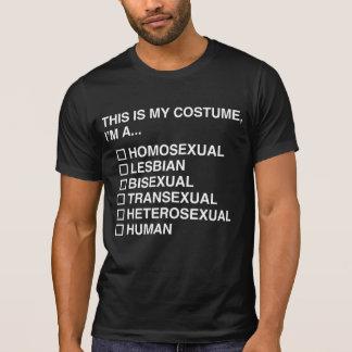 MULTIPLE CHOICE HUMAN COSTUME T-SHIRT