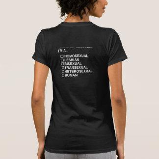 MULTIPLE CHOICE HUMAN COSTUME T-SHIRTS
