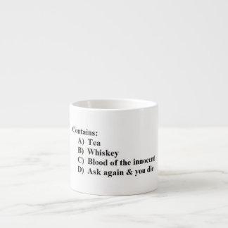 Multiple Choice Mug for Tea Lovers