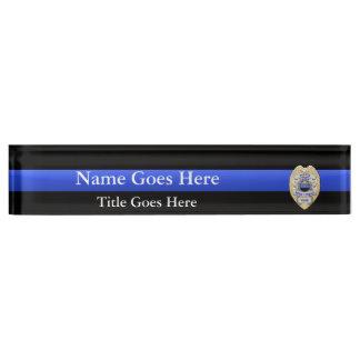 Multiple Choice Police Chief Badges Eagle Rank Desk Name Plate