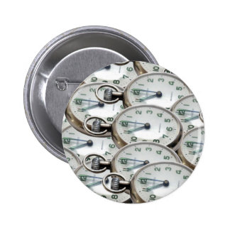 Multiple Clock Faces 2 Inch Round Button