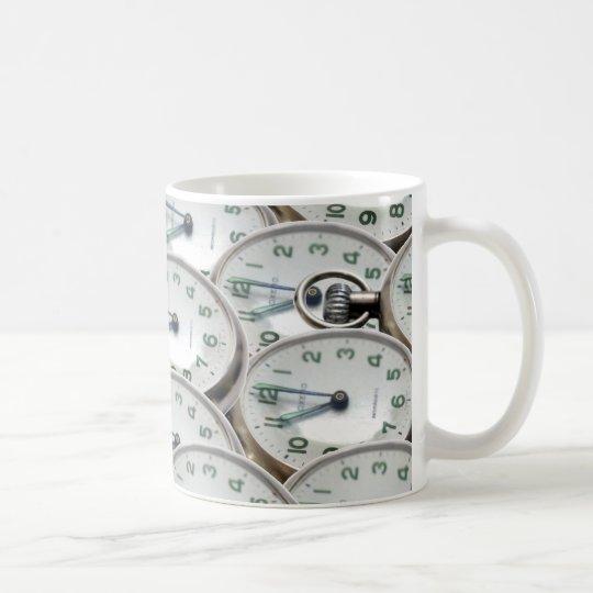 Multiple Clock Faces Coffee Mug