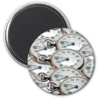 Multiple Clock Faces Magnet