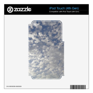 Multiple Clouds, Sky View Decals For iPod Touch 4G