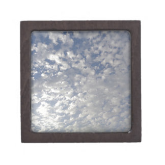 Multiple Clouds, Sky View Jewelry Box