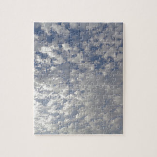 Multiple Clouds, Sky View Jigsaw Puzzle