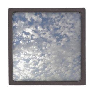 Multiple Clouds, Sky View Keepsake Box