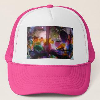 Multiple Colored Glass Maze Trucker Hat