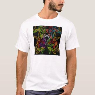 Multiple colorful butterflies T-Shirt