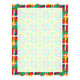 Multiple Colors Letterhead