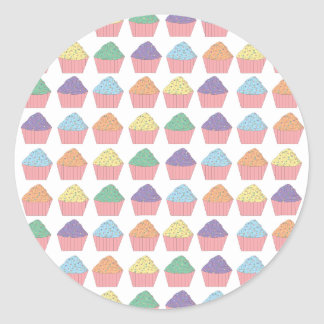 Multiple Cupcake Sticker