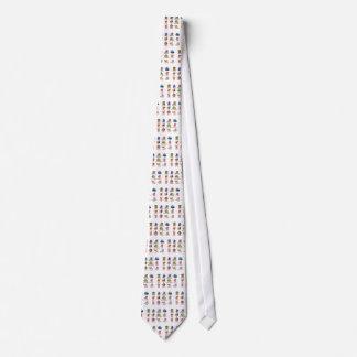 Multiple Dog Breed Neck Tie