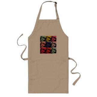 Multiple face long apron