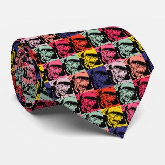 Multiple face neck tie
