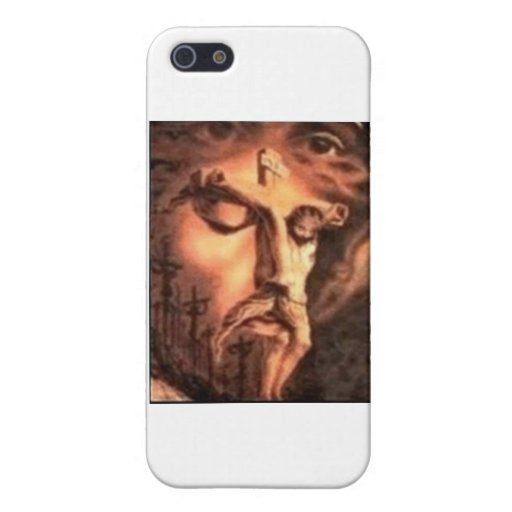 MULTIPLE FACES of JESUS iPhone 5 Cases