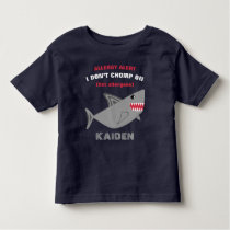 Multiple Food Allergy Alert Shark Shirt