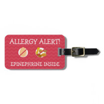 Multiple Food Allergy Alert Tag for Medical Kit