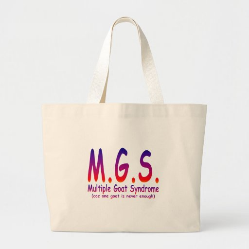 Multiple Goat Syndrome Canvas Bags