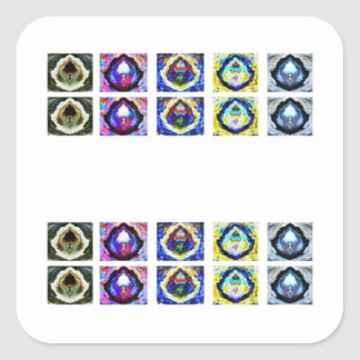 MULTIPLE Image Art - Reiki Karuna Holistic Square Sticker
