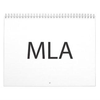Multiple Letter Acronym.ai Wall Calendar