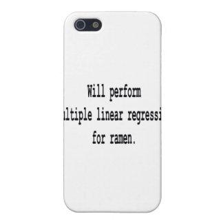 Multiple Linear Regression for ramen iPhone SE/5/5s Case