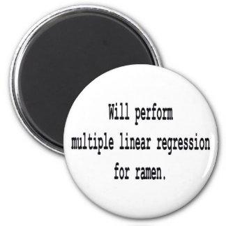 Multiple Linear Regression for ramen Magnet